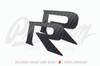 Front & Rear GTR Badge Emblem Inlay Set - (Choose Your Color) | 2009-2017 Nissan GTR