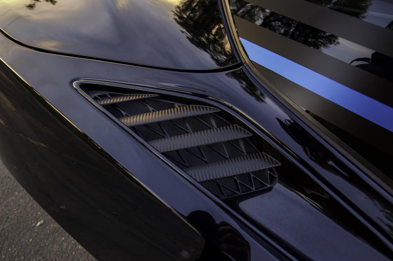Rear Quarter Panel Vent Vinyl Overlays (2014-2019 C7 Corvette)