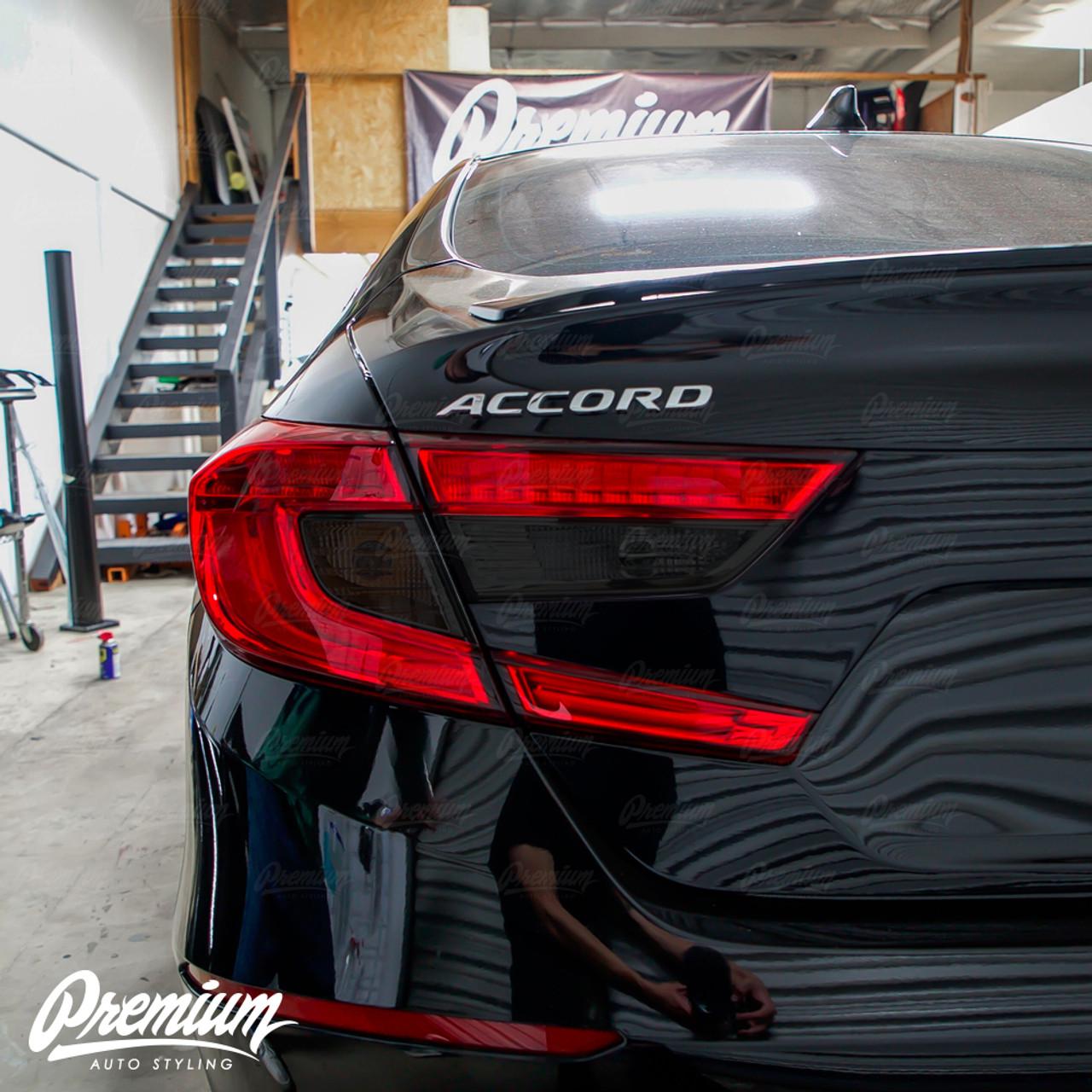 Smoked Reverse Tail Light Insert 2018 Accord Premium Auto Styling