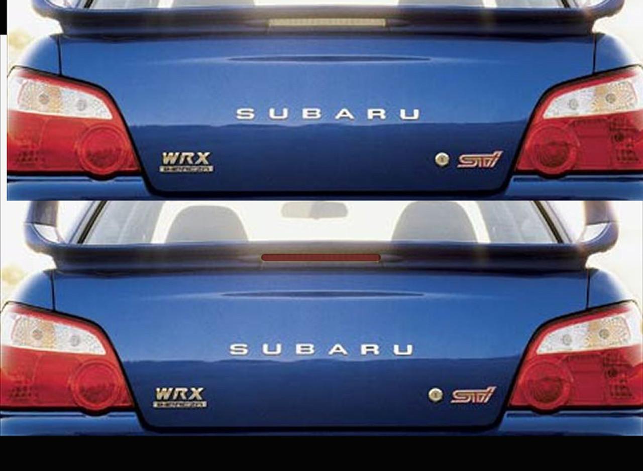 2004 2005 Subaru Impreza STI w// STI spioler Waterproof Car Cover