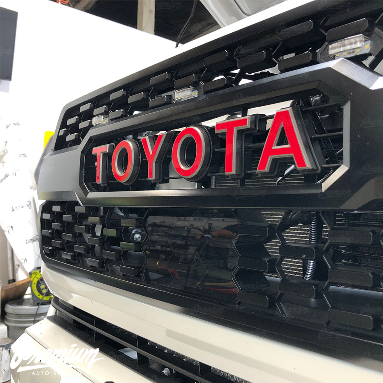 Tacoma TRD PRO Grille Matte Black Fit for TOYOTA Tacoma 2016 2017 2018