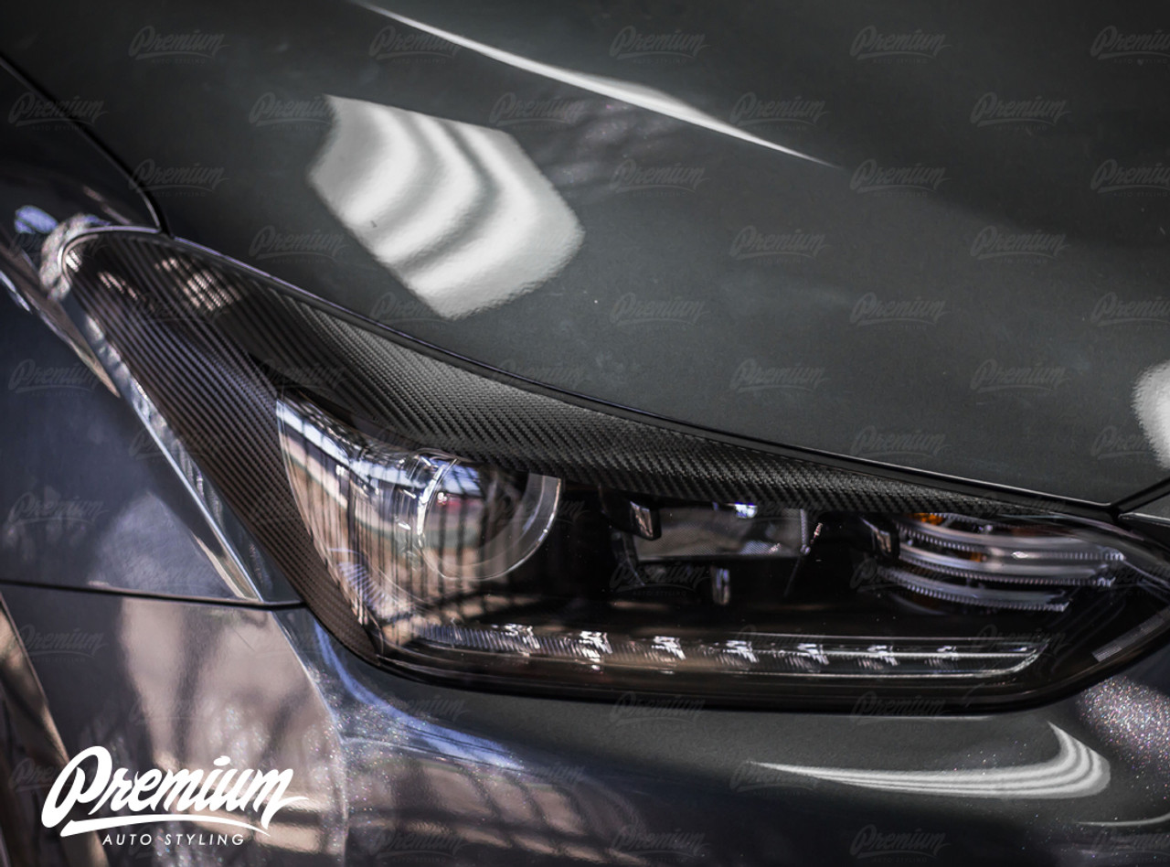 Carbon Fiber Headlight Eyelids