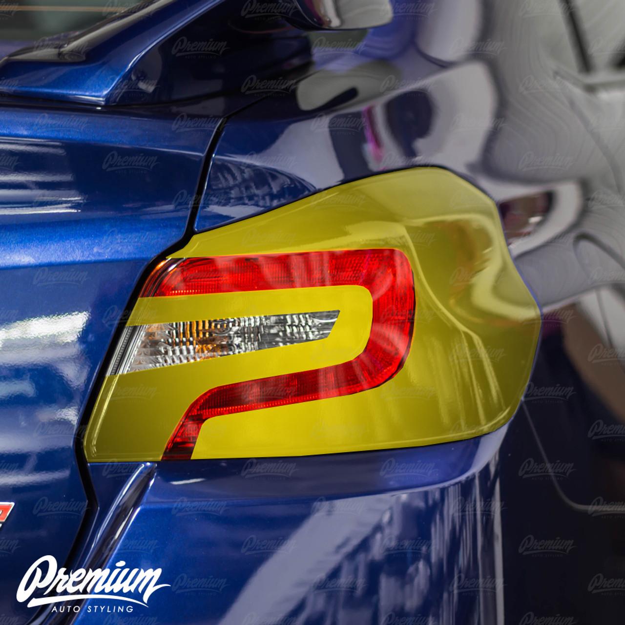 WRX STI Tail Light Tint Overlays //Decals //Like Vinyl //Smoke 2015-17 Subaru WRX