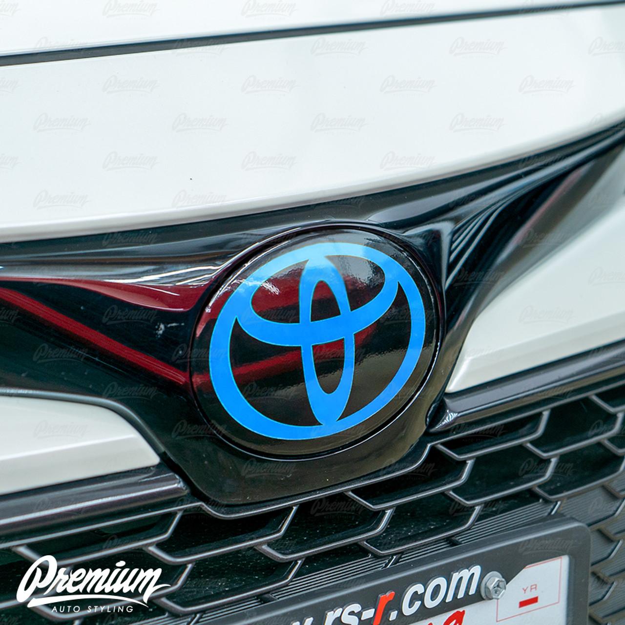 2020 Toyota Corolla Front Emblem Vinyl Overlay Choose Your