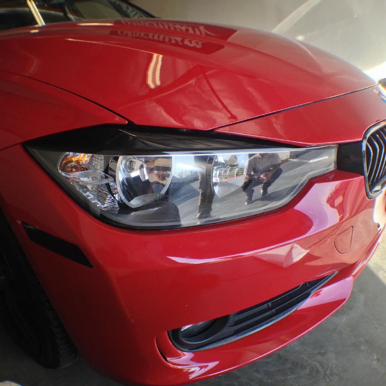 Bmw F30 Vinyl Eyelids Overlays Premium Auto Styling