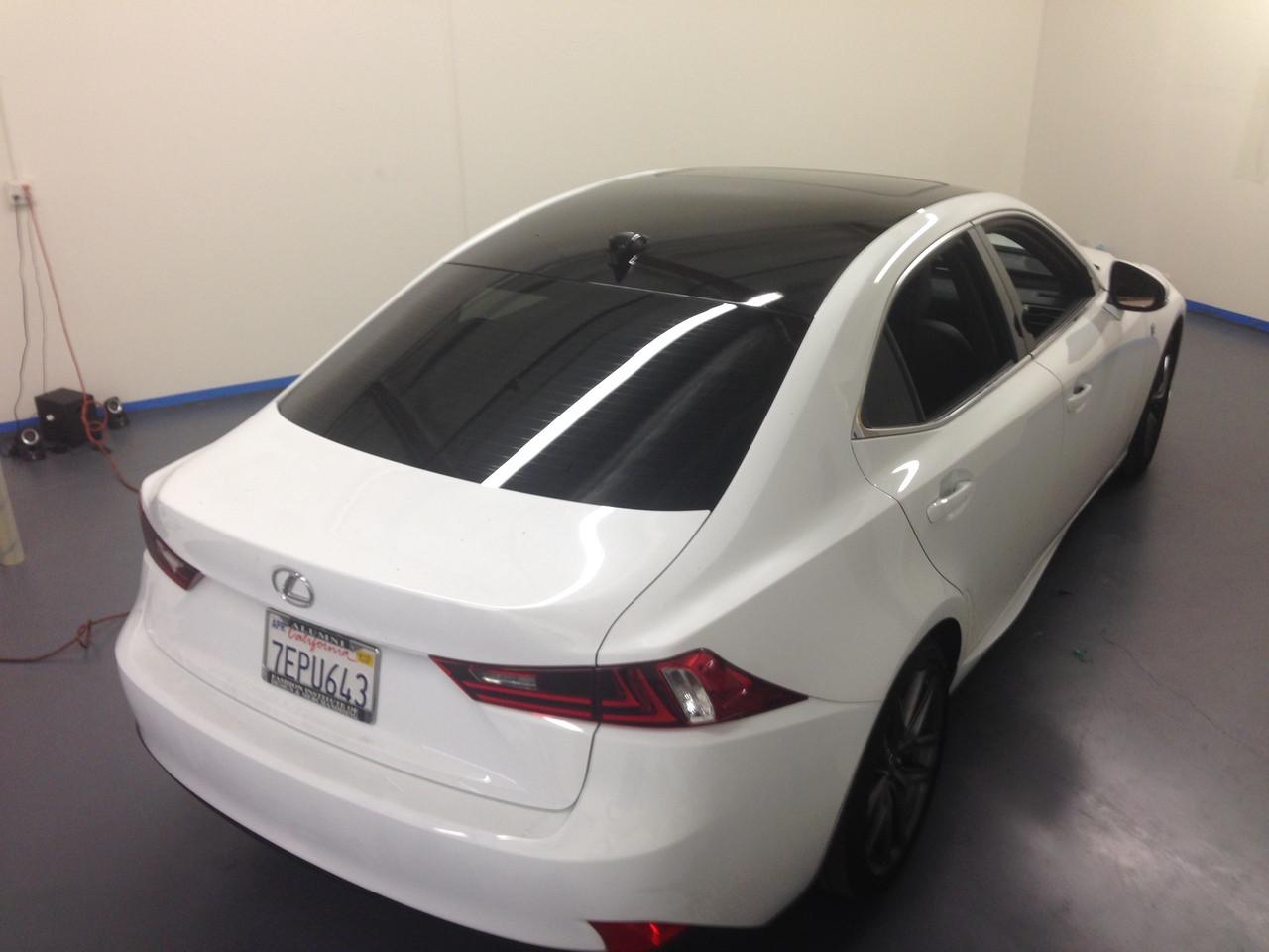 Lexus Is Vinyl Roof Wrap Kit 2014 2018