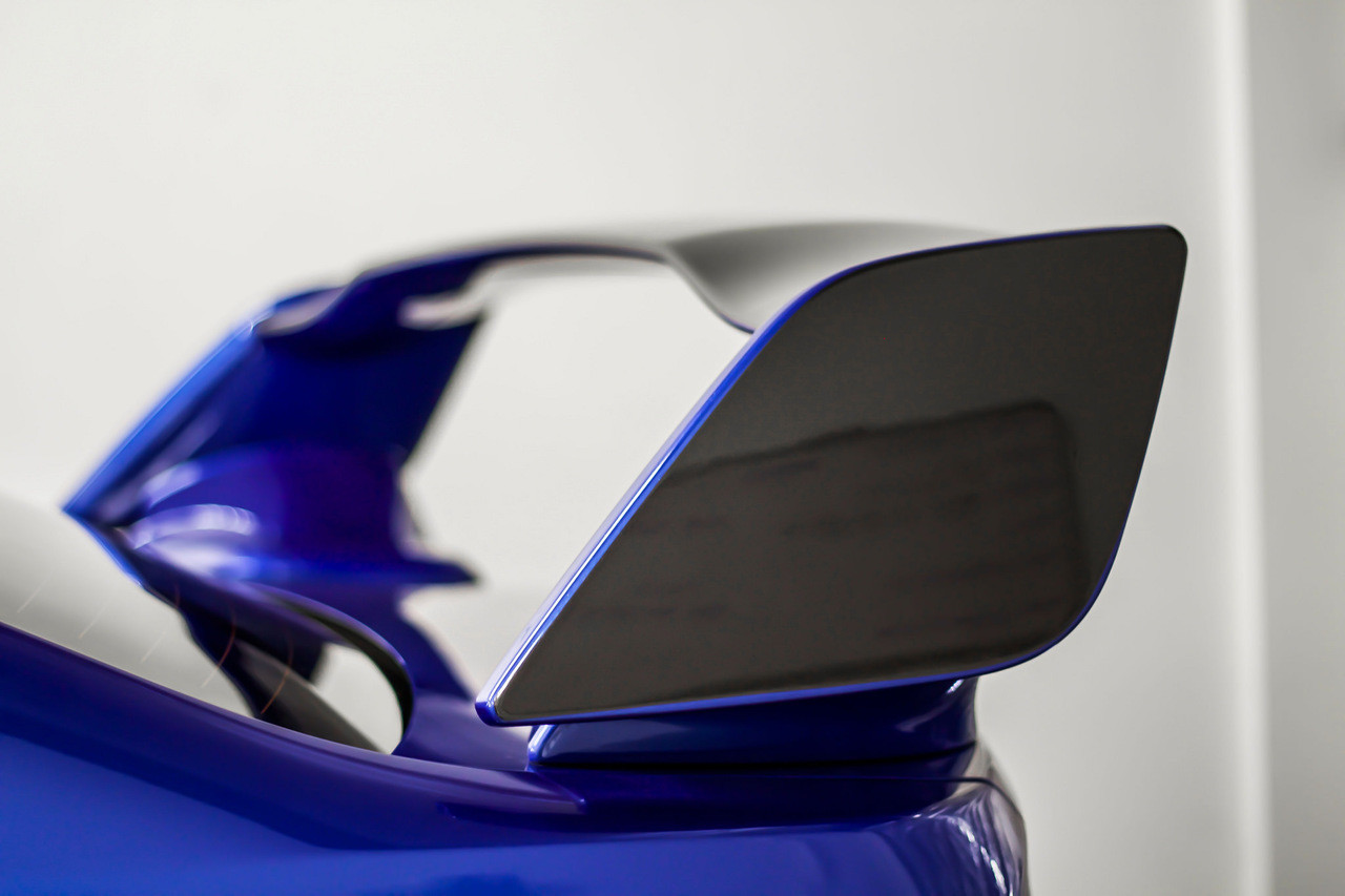 Honda Fit 2006 2007 2008 MATTE BLACK Factory Style Spoiler Rear Hatch Wing