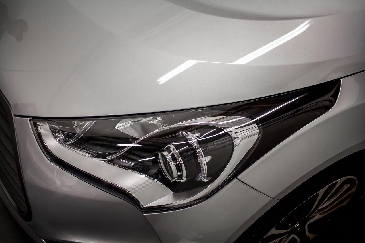 Hyundai Veloster Headlight Amber Delete Tint Overlay 2011