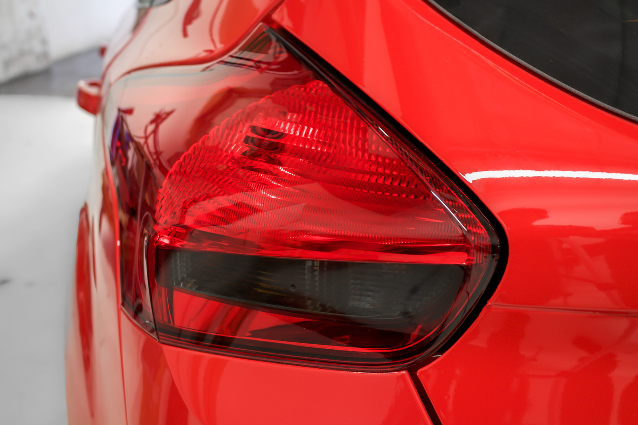 Tail Light Reverse Smoke Tint Overlay | 2015-2019 Ford Focus ST