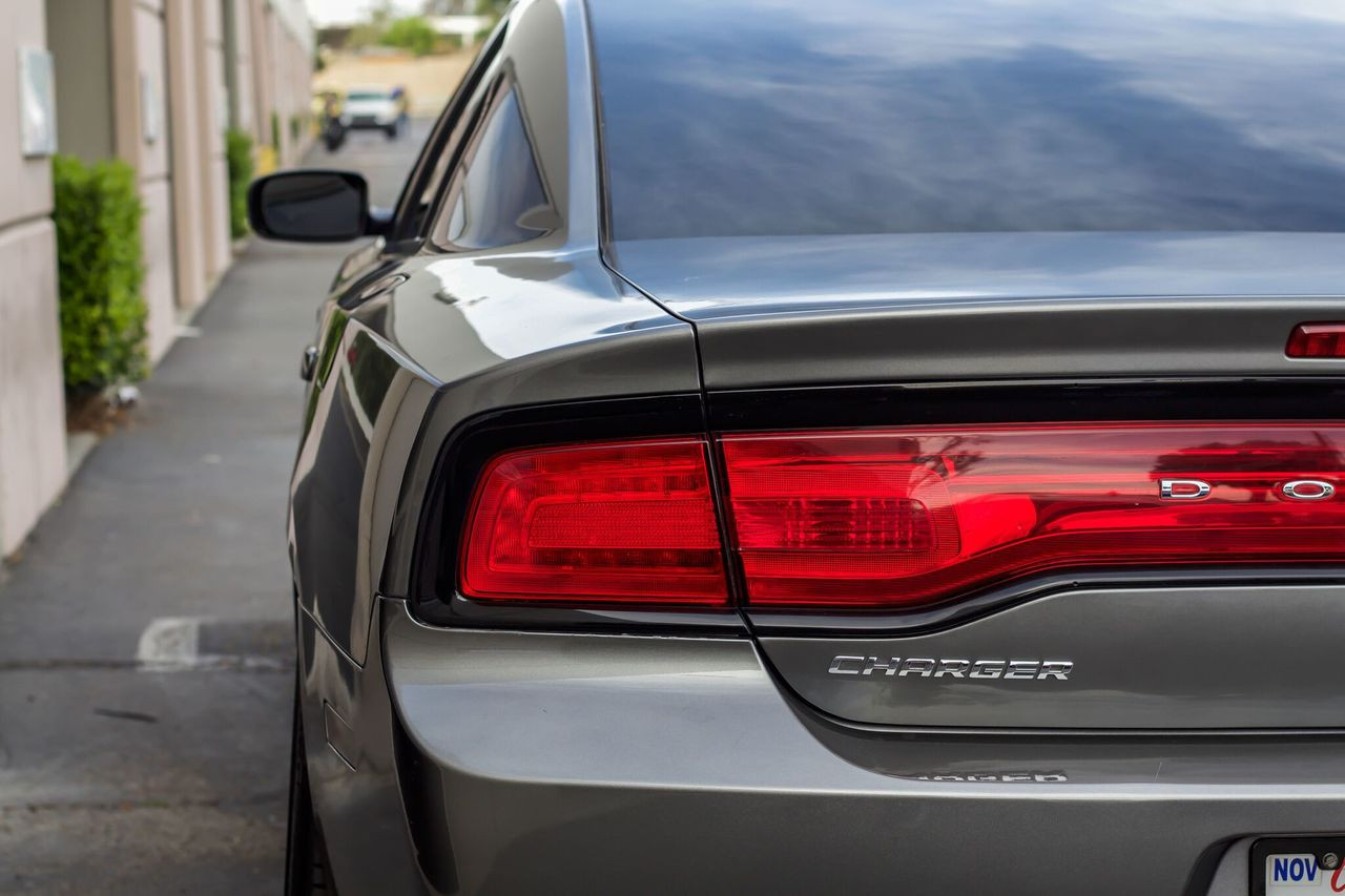 Red Dodge Charger >> Tail Light Red Out Overlays 2011 2014 Dodge Charger Premium Auto