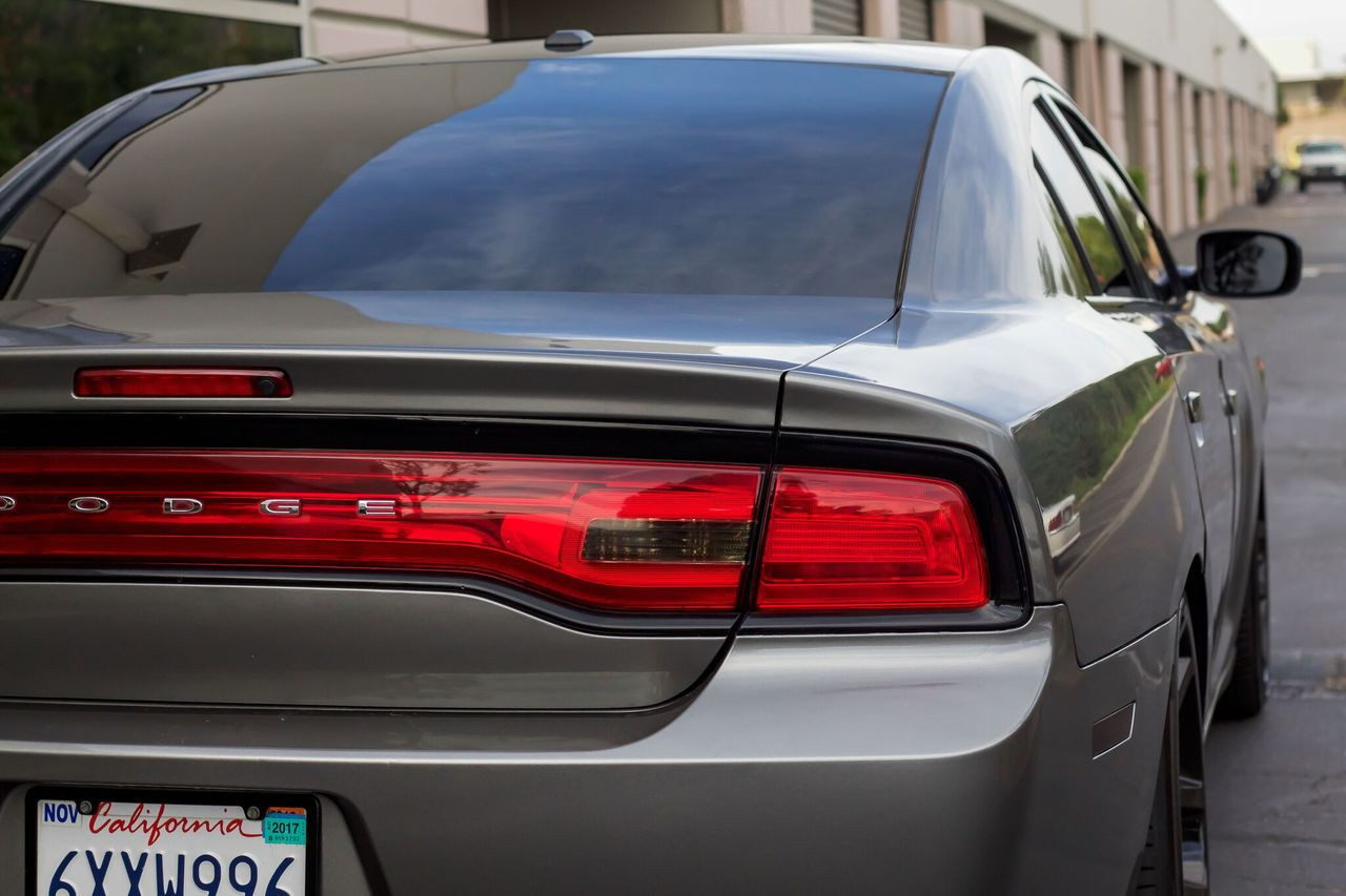 Dodge Charger Tail Lights >> Tail Light Smoke Reverse Overlay 2011 2014 Dodge Charger Premium