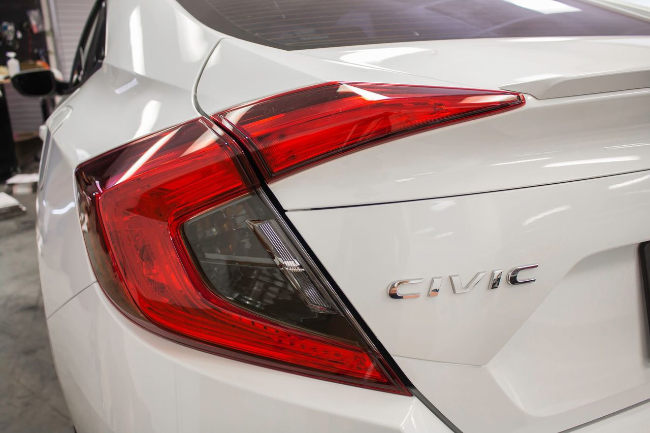 ... Smoked Tail Light Overlays (2016-2017 Civic Sedan)