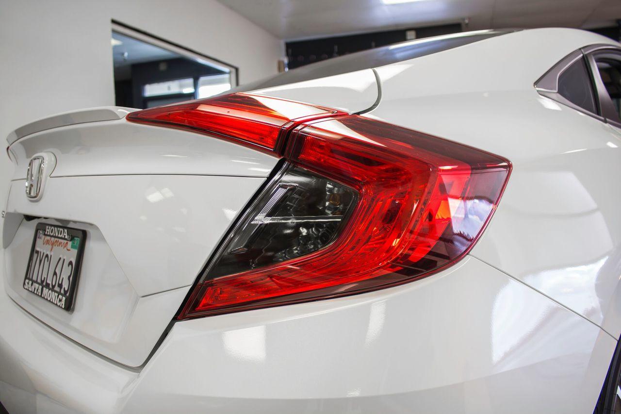 Smoked Tail Light Overlays (2016-2017 Civic Sedan) ...