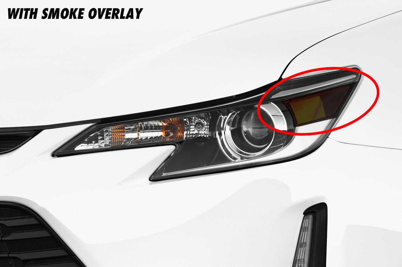 Scion Tc Headlights >> Headlight Reflector Smoke Overlays 2014 2017 Scion Tc