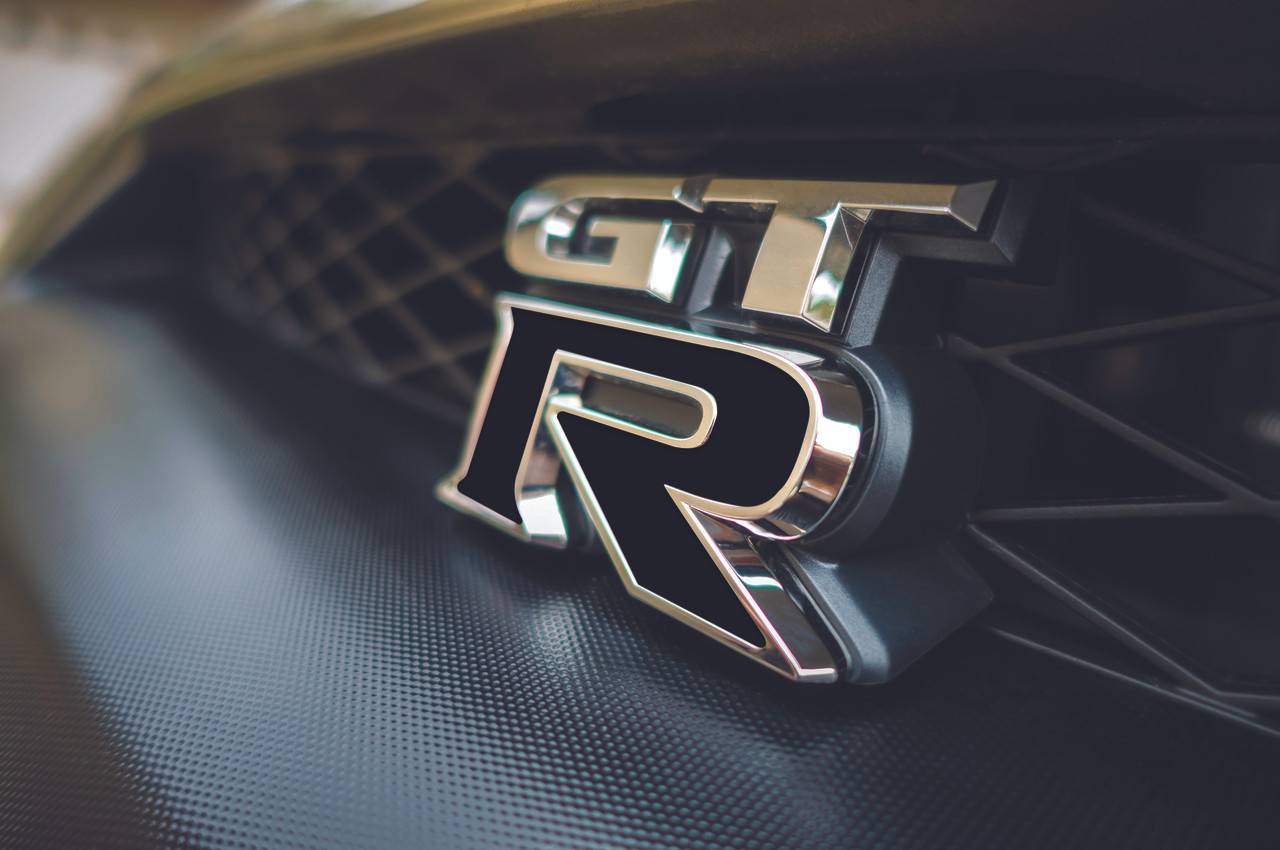 GTR Badge Emblem Inlay Kit (Front & Rear)