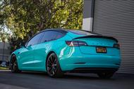 Vinyl Wrapping A Tesla!