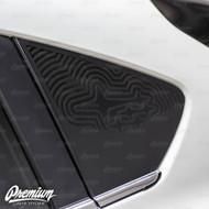 New Subaru Crosstrek Rear Quarter Window Decals