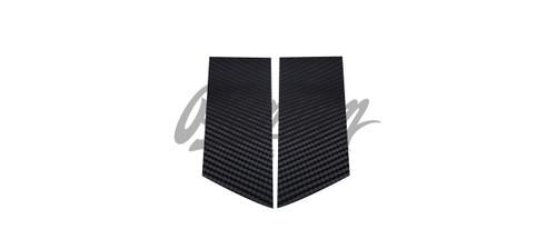 B-Pillar Vinyl Overlays - Gloss Black / Satin Black / Carbon Fiber | 2009-2018 Nissan 370z