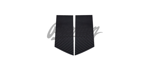 B-Pillar Vinyl Overlays - Carbon Fiber | 2009-2018 Nissan 370z