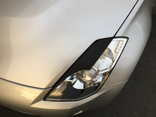 Headlight Vinyl Eyelid Overlays (2003-2008 350z)