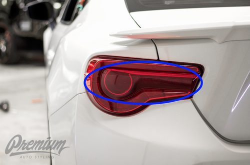 v2 Full Red Tail Light Overlays (2017+ BRZ)