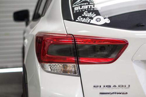 2018 + Crosstrek XV Smoked Tail Light Overlay ( Option S)