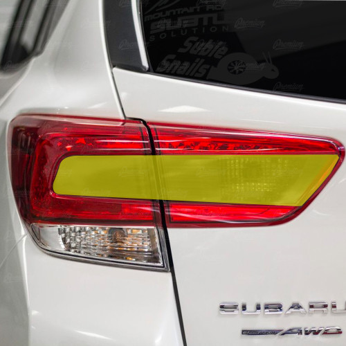 2018-2020 Crosstrek XV Smoked Tail Light Overlay ( Option S)