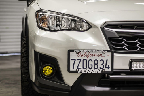 Fog Light Tint Overlay - Rally Yellow/Smoke | 2018-2019 Crosstrek / Impreza