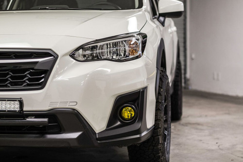 Fog Light Tint Overlay - Rally Yellow/Smoke | 2018-2020 Crosstrek / Impreza