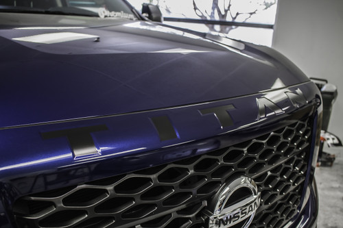 Grille Lettering Vinyl Inlay - Select Color (2016-2018 TITAN)