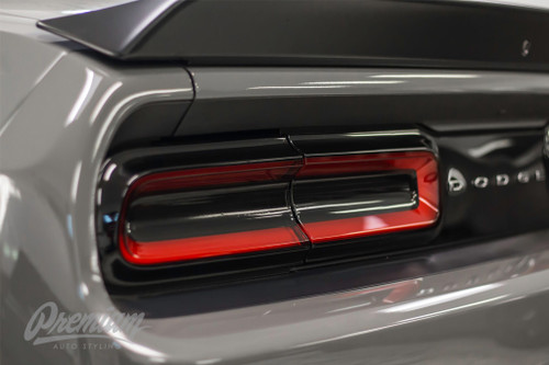 Smoke Taillight Center Insert Overlays (2015-2019 Challenger)