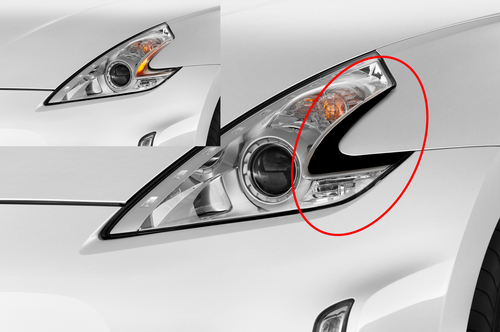 Headlight Amber Delete  | Nissan 370Z 2009-2019