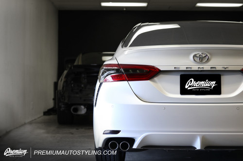 Rear Bumper Reflector Overlays (2018-2020  Toyota Camry)