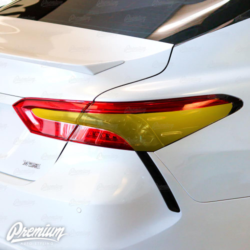 Smoked Tail Light Inset Overlays (2018-2020  Toyota Camry)