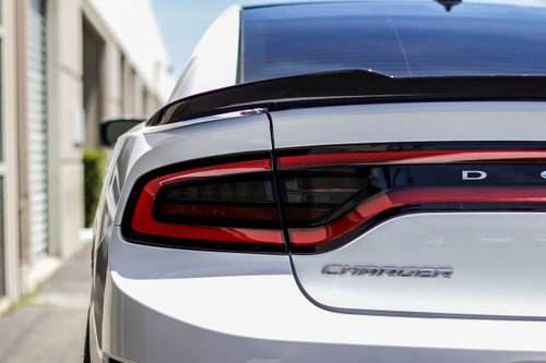 Smoked Tail Light Inset Overlays (2015+  Dodge Charger)