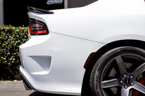 Smoked Rear Side Reflector Overlays - Smoke Tint | 2015-2018  Dodge Charger