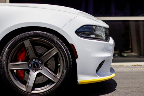 Smoked Front Side Reflector Tint Overlays - Smoke Tint | 2015-2018  Dodge Charger