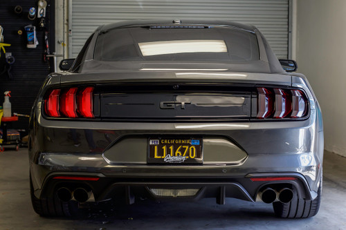Tail Light Overlay Set - Smoke Tint | 2018+ Ford  Mustang
