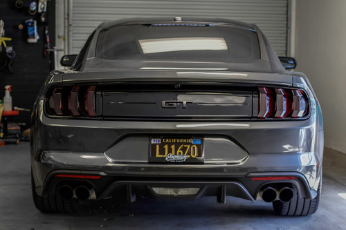 Smoked Tail Light Overlays (2018+ Ford  Mustang )