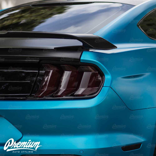 Tail Light Overlay Set - Smoke Tint | 2018-2019 Ford Mustang GT
