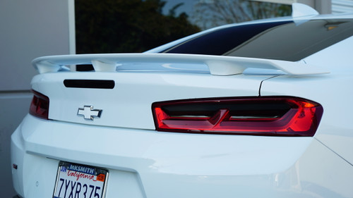 Smoked Tail Light Overlays (2016-2018 Camaro)
