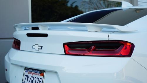 Tail Light Tint Insert Overlays - Smoke Tint | 2016-2018 Chevy Camaro