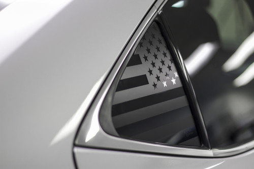American Flag Quarter Window Decal (2014-2019 Lexus IS)