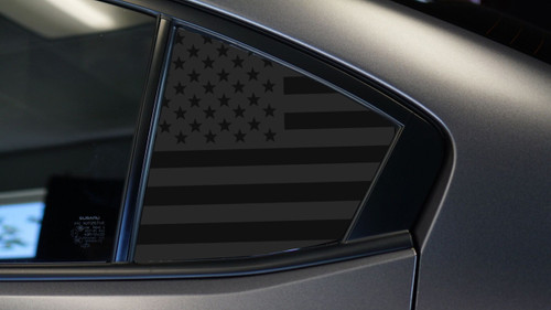 American Flag Quarter Window Decal | 2015-2020 Subaru WRX / STI