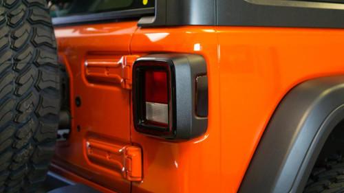 Rear Side Marker Smoke Tint Overlays | 2018 Jeep JL