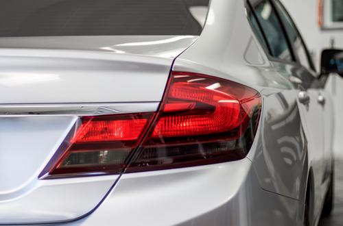 Tail Light Reverse Light + Turn Signal Smoke Tint Overlays | 2013-2015 Honda Civic Sedan
