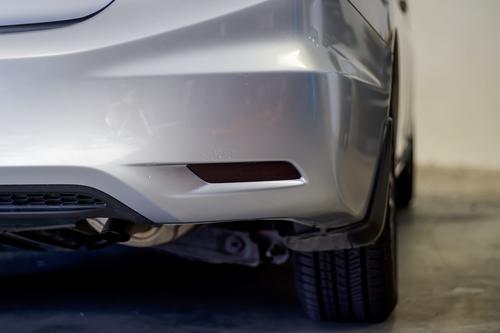 Smoked Tinted Rear Bumper Reflectors | 2013-2015 Honda Civic Sedan