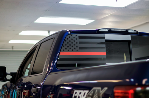 Thin Red Line American Flag (2016-2019 TITAN XD)