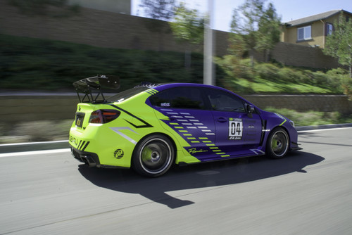 Premium AutoGraph Decal | Large Race Orientation Set of 2