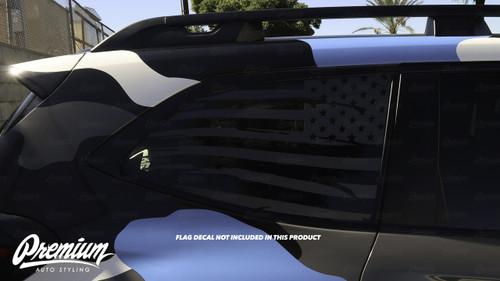 Window Trim Chrome Delete Kit - Gloss Black Vinyl | Subaru Ascent 2019